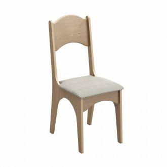 Imagem - Cadeira Com Assento Estofado Dalla Costa CA18/2-K17 100% MDF cód: 38307