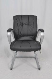 Imagem - Cadeira De Escritório Fixa CX0078V01 Bric Couro Pu Preto cód: 3020
