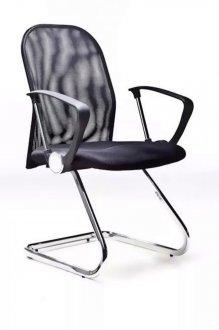 Imagem - Cadeira De Escritório Fixa M3A-9258 Bric Couro Pu Preto cód: 3021