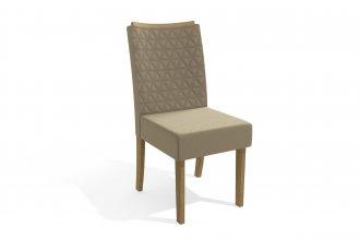 Imagem - Cadeira Estofada Kappesberg 2 Cad129FR-A020 Veludo Paiva cód: 37729