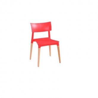 Imagem - Cadeira Flat Falkk FL-010 Vermelho cód: 34588