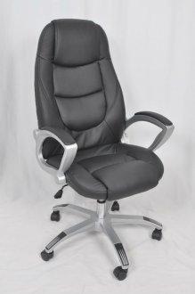Imagem - Cadeira Giratória De Escritório CX0025H02 Bric Couro Pu Preto cód: 3017