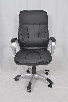 Imagem - Cadeira Giratória De Escritório CX0078H03 Bric Couro Pu Preto cód: 3018