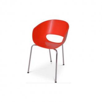 Imagem - Cadeira Hamburgo Falkk FL-005 Vermelha cód: 34597