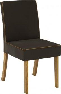 Imagem - Conjunto 02 Cadeiras Henn Maris Nature/Marrom cód: 36885