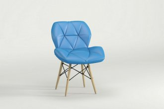 Imagem - Cadeira Slim Eiffel Notável Azul cód: 34211