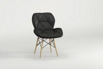 Imagem - Cadeira Slim Eiffel Notável Preto cód: 34212