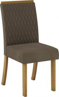 Imagem - Conjunto 02 Cadeiras Henn Vega Nature/Bege cód: 36894