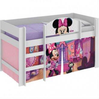 Imagem - Cama Minnie Disney Pura Magia Play Branca cód: 35627