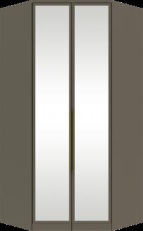 Imagem - Canto Closet Henn Diamante 02 Portas Espelho Damasco HP cód: 36852