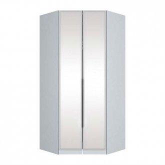 Imagem - Canto Closet Henn Exclusive 02 Portas de Espelho Branco HP cód: 35347