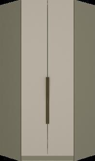 Imagem - Canto Closet Henn Exclusive M227 2 Portas Duna Cristal cód: 35255