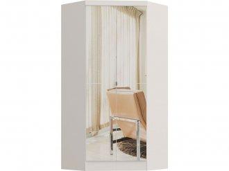 Imagem - Guarda Roupa Castro Infinity Canto Closet 02 Portas C/Espelho Branco MDP cód: 35755