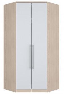 Imagem - Canto Closet 2 Portas Diamante Henn Fendi/Branco HP cód: 1727