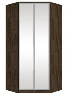 Imagem - Canto Closet 2 Portas Espelho Diamante Henn Moka cód: 549