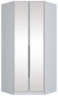 Imagem - Canto Closet 2 Portas com Espelho Exclusive Henn Branco HP cód: 552