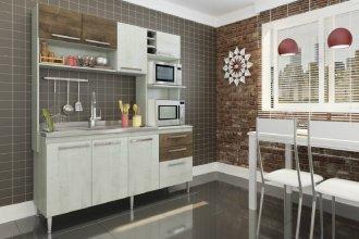 Imagem - Cozinha Compacta Blume 8 Portas e 2 Gavetas Casamia cód: 2045