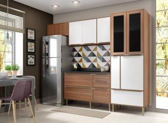 Imagem - Cozinha Completa Multimóveis Calábria 05 Peças 5453 MDP