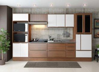 Imagem - Cozinha Completa Multimóveis Calábria 10 Peças 5450 MDP