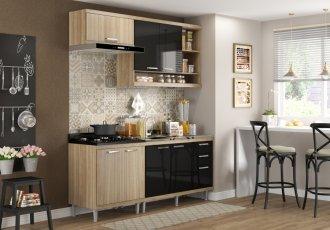 Imagem - Cozinha Completa Multimóveis Sicilia 04 Peças 5810 MDP cód: 37723