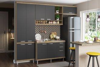 Imagem - Cozinha Completa Multimóveis Sicília 04 Peças 5840 MDP cód: 37704