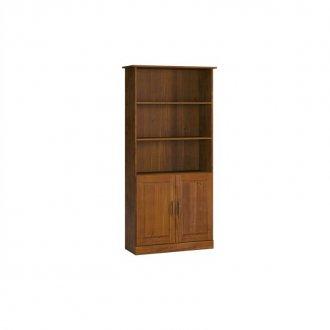 Imagem - Estante para Livros 02 Portas 1905T Finestra Office Imbuia cód: 2131