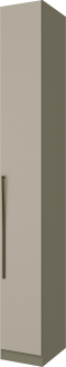 Imagem - Guarda Roupa Henn Exclusive 01 Porta Duna Cristal cód: 35260