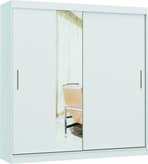 Imagem - Guarda Roupa Accordi Linha Quarto Castro 2 Portas  1 Espelho  cód: 37687