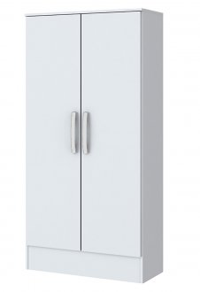 Imagem - Guarda Roupa Móveis Briz B14-10 2 Portas Branco cód: 921