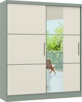 Imagem - Guarda Roupa Castro Classic PLUS 02 Portas 02 Gavetas 0621 C/ESP Nacar Off White cód: 7898414069923