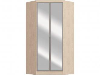 Imagem - Guarda Roupa Castro Requinte Canto Closet 02 Portas com Espelho e Moldura Nudi MDF cód: 35929