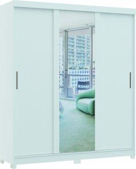 Imagem - Guarda Roupa Magnum Linha Quarto Castro 3 Portas 1 Espelho  cód: 37936