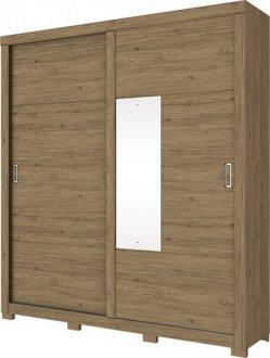 Imagem - Guarda Roupa Neo 2 Portas Deslizantes Henn Rústico cód: 3181