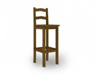 Imagem - Jogo com 02 Cadeiras Bistrô 9370 MPO Imperial Imbuia Fosco cód: 1157