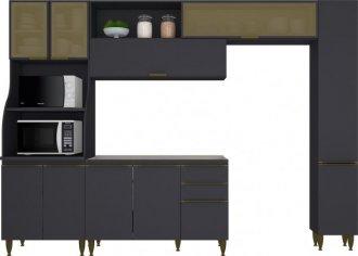 Imagem - Kit Cozinha Decore IV Decore Henn Grafite HP cód: 3341