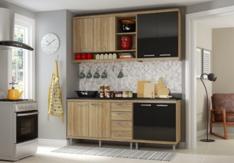 Imagem - Cozinha Completa Multimóveis Sicília 04 Peças 5819 MDP cód: 37684