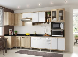 Imagem - Cozinha Completa Multimóveis Sicília 08 Peças 5831 MDP cód: 37695