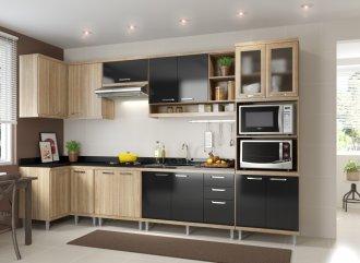 Imagem - Cozinha Completa Multimóveis Sicília 07 Peças 5830 MDP cód: 37692