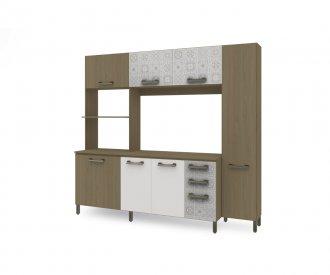 Imagem - Kit de Cozinha Compacta Kappesberg E780 Nature com Branco cód: 1166
