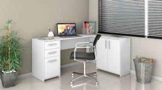 Imagem - Mesa Office Canto Notavel Branco cód: 35500