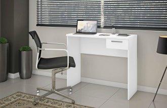 Imagem -  Mesa Office Escrivaninha Notavel Siena NT 2000 Branco cód: 35481