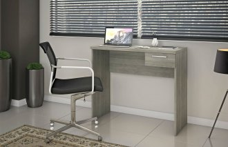 Imagem - Mesa Office Escrivaninha Notavel Siena NT 2000 Carvalho cód: 35480