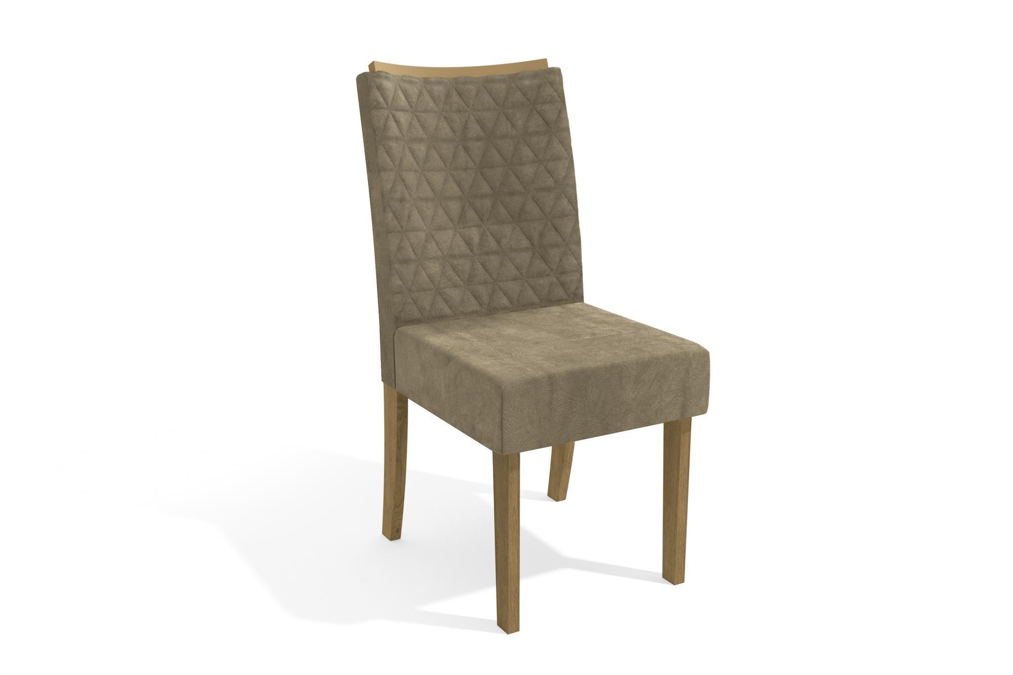 Imagem - Mesa Sala De Jantar Completa com 6 Cadeiras Kappesberg cód: 37736