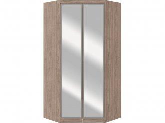 Imagem - Módulo Canto Closet Requinte Castro 2 Portas Com Espelho Amêndoa MDF cód: 38342