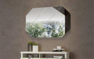 Imagem - Painel Decorativo Com Espelho Dalla Costa TB207 100% MDF cód: 38293