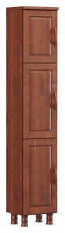 Imagem - Paneleiro 3 Portas Finestra Linha Bronze Cor Imbuia