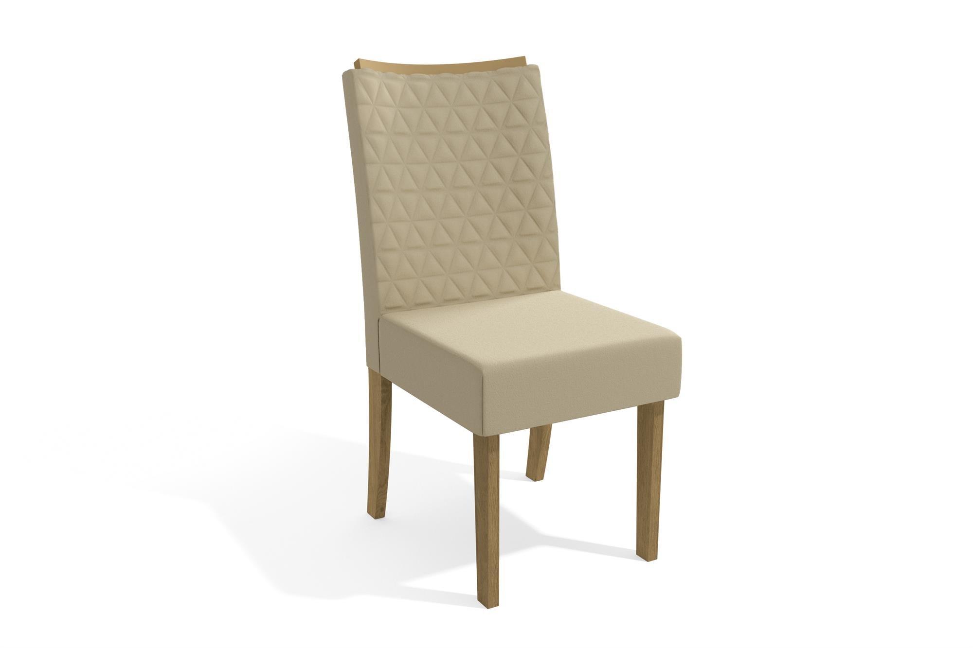 Imagem - Mesa Graviola Sala De Jantar Completa com 6 Cadeiras Kappesberg  cód: 37734