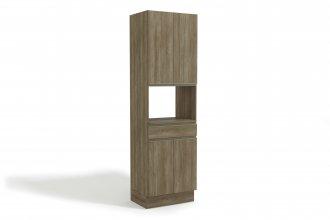 Imagem - Torre Quente Kappesberg G751 1 Forno 4 Portas 1 Gaveta 70cm Nogal cód: 35058