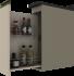 Armário para Condimentos Henn Connect 20mm Duna Cristal 2