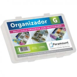 Imagem - BOX ORGANIZADOR G COLOR NATURE